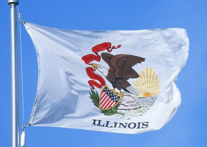 Illinois Flag and Song