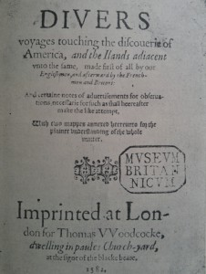 Hakluyt Cover Page