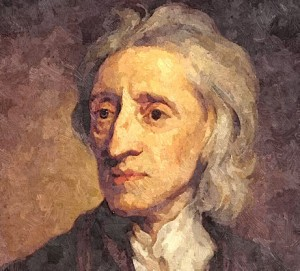John Locke_Oil Painting