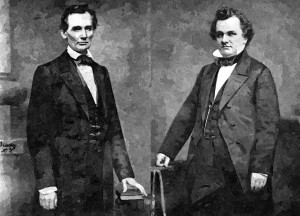 Lincoln Douglas_Oil Painting
