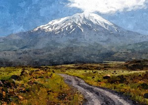 Mount Ararat_Oil Painting