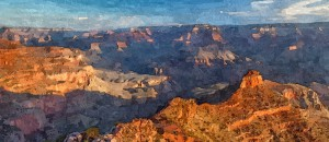 The Grand Canyon_Oil Painting